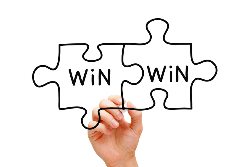 Wiin Win Situation mit Win Sales Service